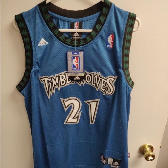c0f1eab6e Kevin Garnett Timberwolves Throwback Jersey S. NWT. adidas